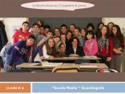 Classe III A della scuola Media Guardiagrele di Guardiagrele (CHIETI)