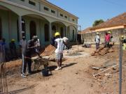 001 - 001 - Salone in costruzione accanto alla Chiesa del Carmine